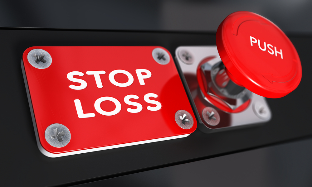 stop loss button